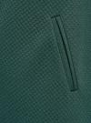 Платье трикотажное с рукавом 3/4 oodji для женщины (зеленый), 24001100-2/42408/6E00N - вид 5