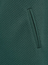 Платье трикотажное с рукавом 3/4 oodji #SECTION_NAME# (зеленый), 24001100-2/42408/6E00N - вид 5