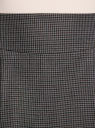 Юбка короткая с карманами oodji #SECTION_NAME# (серый), 11605056-2/22124/2539C - вид 4
