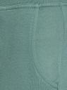 Брюки трикотажные спортивные oodji для женщины (зеленый), 16700030-5B/46173/6C00N