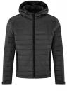 Куртка стеганая с капюшоном oodji #SECTION_NAME# (черный), 1B112009M/25278N/2900N