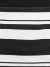 Юбка длинная трикотажная oodji #SECTION_NAME# (черный), 14101078/18610/2910S - вид 4