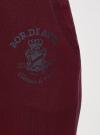 Брюки трикотажные на завязках oodji #SECTION_NAME# (красный), 16701055-1/47999/4900P - вид 5