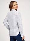 Рубашка базовая с нагрудным карманом oodji #SECTION_NAME# (белый), 11403205-9/26357/1075G - вид 3