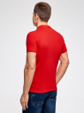 Сорочка верхняя трик. мужская oodji #SECTION_NAME# (красный), 5B422001M/44032N/4500N - вид 3