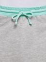 Юбка трикотажная на эластичном поясе oodji #SECTION_NAME# (серый), 14101098B/46155/2373B - вид 4