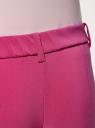 Брюки облегающие на эластичном поясе oodji #SECTION_NAME# (розовый), 11706196B/42250/4700N - вид 5