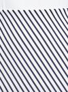Юбка трикотажная с асимметричным низом oodji #SECTION_NAME# (белый), 14101081B/45500/1279S - вид 4
