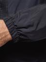 Куртка на молнии с капюшоном oodji для мужчины (синий), 1L621002M/50531N/7933B