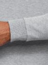 Худи базовая с карманом oodji #SECTION_NAME# (серый), 5B111003M/44312N/2000M - вид 5