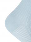 Комплект из трех пар укороченных носков oodji #SECTION_NAME# (синий), 57102706T3/48022/22 - вид 4