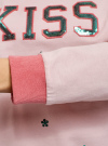 Свитшот хлопковый с пайетками oodji #SECTION_NAME# (розовый), 14808015-35/46151/406DP - вид 5