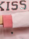 Свитшот хлопковый с пайетками oodji для женщины (розовый), 14808015-35/46151/406DP - вид 5