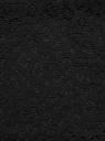 Платье кружевное с контрастным воротником oodji для женщины (черный), 11911008/45945/2900N