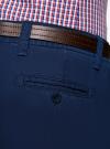 Брюки-чиносы с ремнем oodji #SECTION_NAME# (синий), 2B150022M/25735N/7500N - вид 5