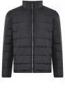 Куртка стеганая с воротником-стойкой oodji #SECTION_NAME# (синий), 1B111005M/48961N/7900N