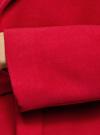Пальто свободного силуэта с поясом oodji #SECTION_NAME# (красный), 10103034/45628/4500N - вид 5