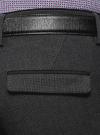 Брюки классические slim fit oodji для мужчины (серый), 2L210243M/48561N/2500O - вид 5