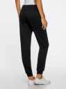 Комплект трикотажных брюк (2 пары) oodji #SECTION_NAME# (черный), 16700030-15T2/47906/2900N - вид 3