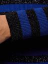 Джемпер полосатый с люрексом oodji #SECTION_NAME# (черный), 63812577-2/46476/2975S - вид 5