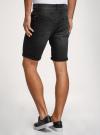 Шорты джинсовые с потертостями oodji #SECTION_NAME# (черный), 6L220021M/47884/2900W - вид 3