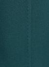 Юбка прямая с завышенной талией oodji #SECTION_NAME# (зеленый), 21601259-1/31291/6C00N - вид 5