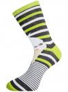 Комплект высоких носков (6 пар) oodji #SECTION_NAME# (разноцветный), 57102902T6/47469/41 - вид 3
