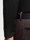 Рубашка базовая приталенная oodji #SECTION_NAME# (черный), 3B140000M/34146N/2900N - вид 5