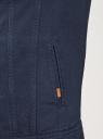 Куртка джинсовая на пуговицах oodji #SECTION_NAME# (синий), 6L300011M/35771/7900W - вид 5