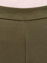 Брюки облегающие на эластичном поясе oodji #SECTION_NAME# (зеленый), 11706196B/42250/6800N - вид 4