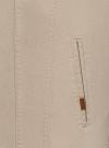 Куртка джинсовая на пуговицах oodji #SECTION_NAME# (бежевый), 6L300011M/35771/3300W - вид 5