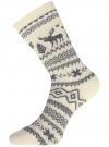 Комплект из шести пар хлопковых носков oodji для женщины (разноцветный), 57102902-5T6/49118/50 - вид 3