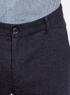 Брюки из плотной ткани с декоративным элементом oodji #SECTION_NAME# (синий), 2L150091M/44456N/7929O - вид 4
