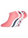 Комплект укороченных носков (6 пар) oodji #SECTION_NAME# (разноцветный), 57102433T6/47469/50 - вид 2