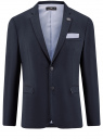 Пиджак приталенный классический oodji для мужчины (синий), 2L420219M/48137N/7900N
