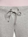 Комплект трикотажных брюк (2 пары) oodji #SECTION_NAME# (серый), 16700030-15T2/46173/2375N - вид 4