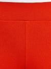 Легинсы хлопковые с лампасами oodji #SECTION_NAME# (красный), 18700058/47618/4529P - вид 5