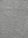 Юбка прямая базовая oodji #SECTION_NAME# (серый), 24101048-4B/46944/2300M - вид 5