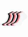 Комплект носков с двойной резинкой (10 пар) oodji для женщины (разноцветный), 57102703T10/47469/4