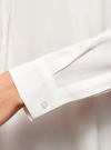 Блузка вискозная А-образного силуэта oodji #SECTION_NAME# (белый), 21411113B/26346/1200N - вид 5