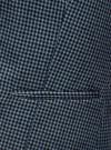 Жилет классический с декоративными карманами oodji #SECTION_NAME# (синий), 12300102/22124/7029C - вид 5