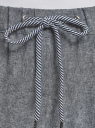 Брюки на завязках oodji #SECTION_NAME# (серый), 11710001/49284/7912N - вид 4