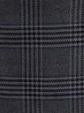 Юбка прямая с завышенной талией oodji для женщины (серый), 21601295-7/45768/2529C