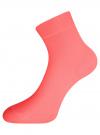 Комплект из трех пар носков oodji для женщины (разноцветный), 57102810T3/48421/5
