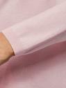 Кардиган свободного силуэта без застежки oodji #SECTION_NAME# (розовый), 73212371-1B/48117/4001N - вид 5