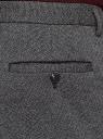 Брюки классические трикотажные oodji для мужчины (черный), 5L200028M/50137N/2910O