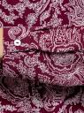 Блузка принтованная из шифона oodji #SECTION_NAME# (красный), 11400394-5/36215/4912E - вид 5