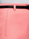 Шорты хлопковые с ремнем oodji #SECTION_NAME# (розовый), 11800038/48229/4100N - вид 5