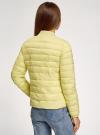 Куртка-бомбер на молнии oodji #SECTION_NAME# (желтый), 10203061-1B/33445/5000N - вид 3