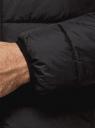 Куртка стеганая с капюшоном oodji #SECTION_NAME# (черный), 1B112027M/33743/2900N - вид 5
